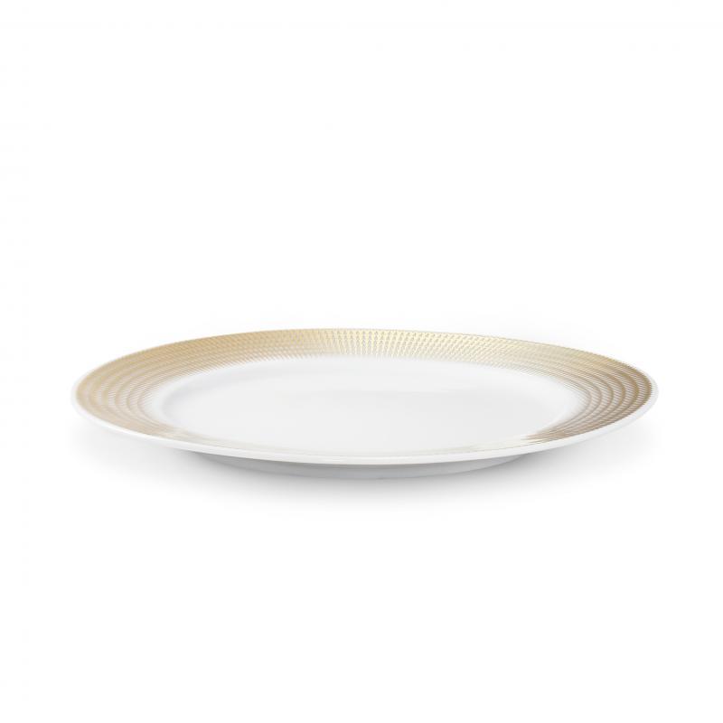 Dezertní talíř 21 cm Zlatá andělská křídla