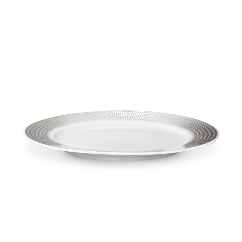 Dezertní talíř 21 cm Stříbrná andělská křídla