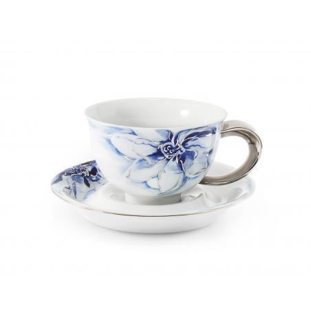 Cup and saucer 0.30l cobalt...