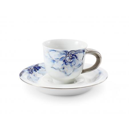 Cup and saucer 0.08l mocca...