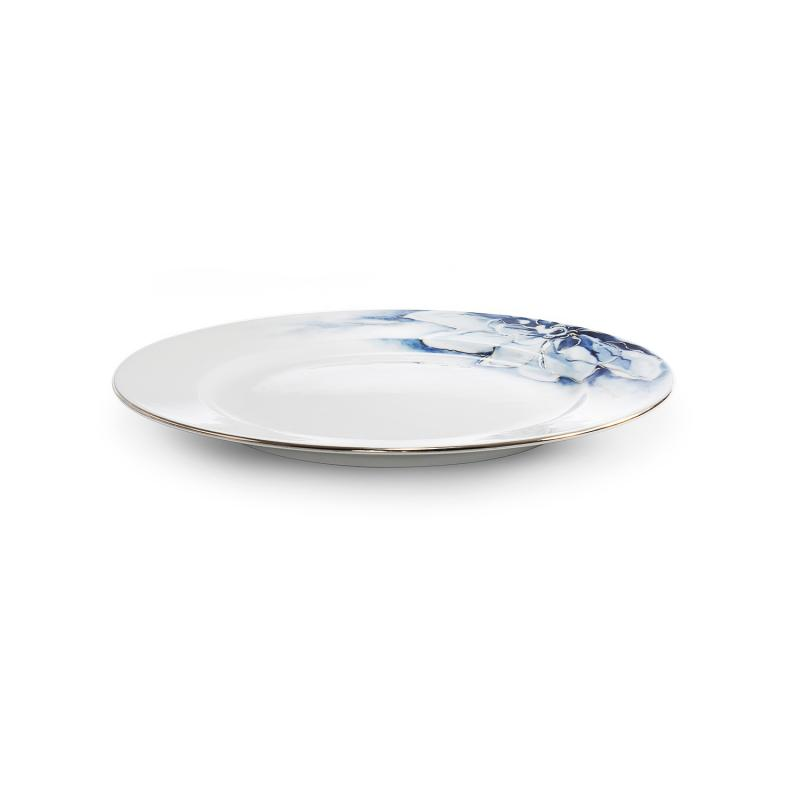 Dezertní talíř ø21cm Kobaltová květina