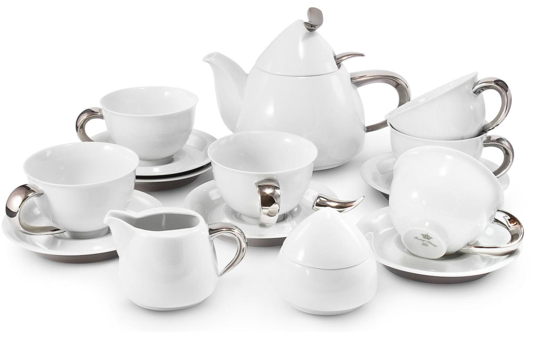 Tea service 15-piece Platinum Celt