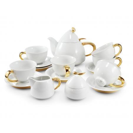 Tea service 15-piece Golden...