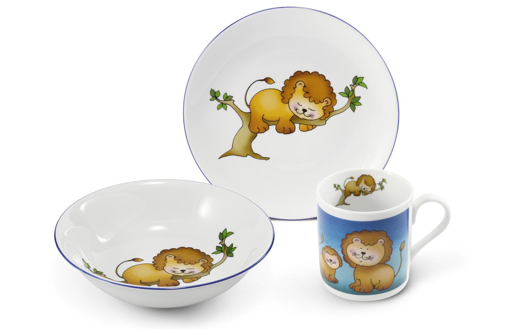 Kinderservice 3-teilig Löwe