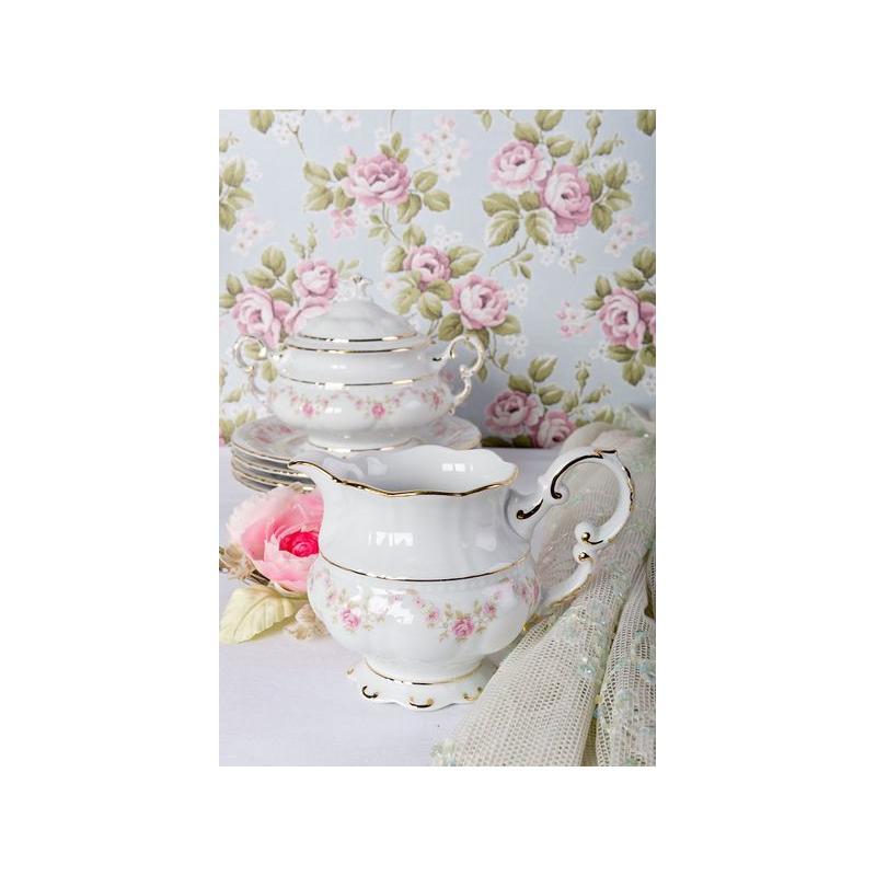 Tea set 15-piece - Rose garland