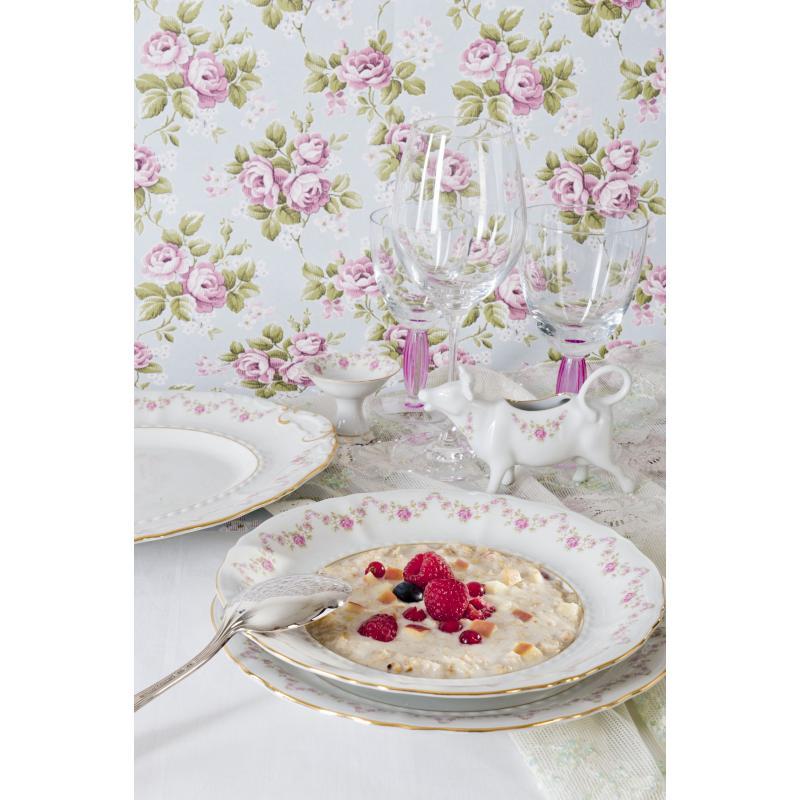 Speiseservice 25-teilig - Girlande aus Rosen