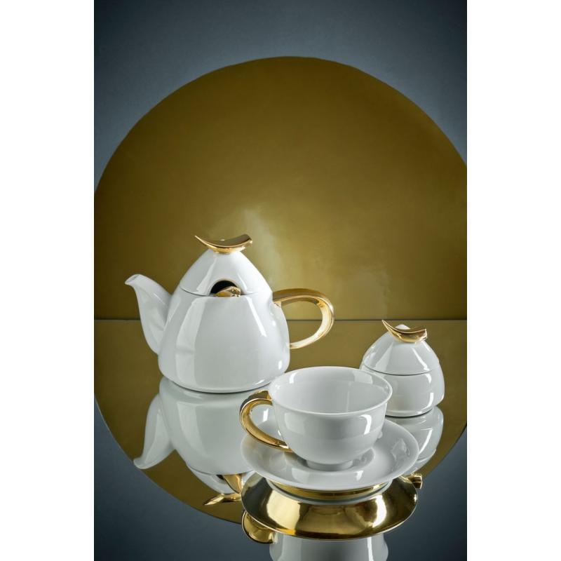 Čajová souprava 15 dílná Zlatý Kelt