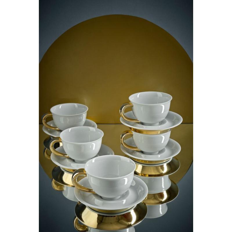 Cup and saucer 0.30l Golden Celt