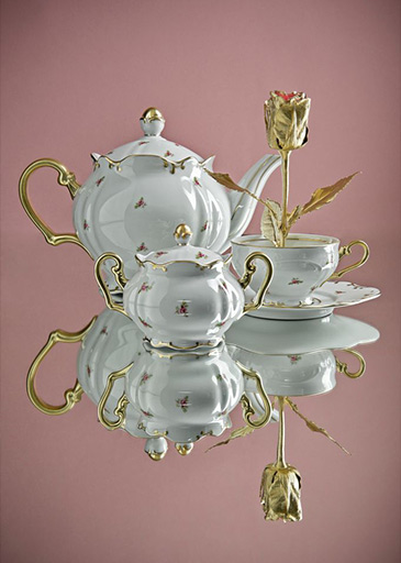 Porcelán Rudolf Kämpf