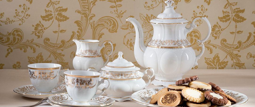 Porcelán Leander