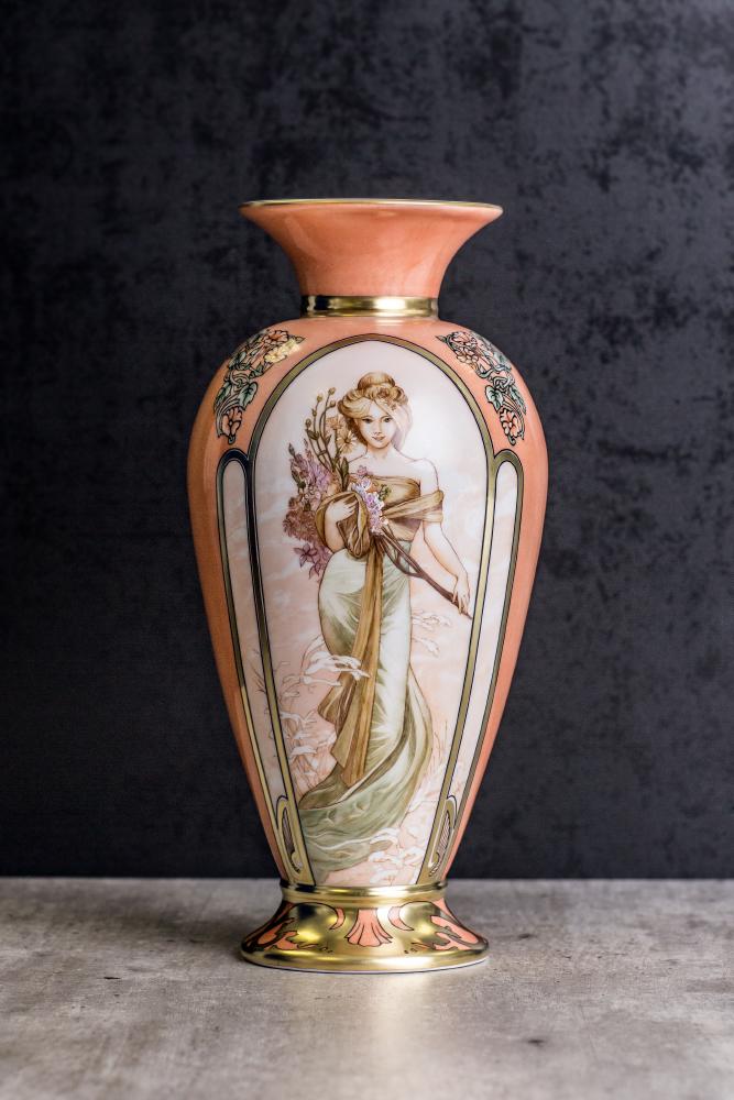 Ruční malba porcelán Rudolf Kämpf